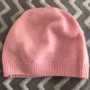 Pink Gap Beanie